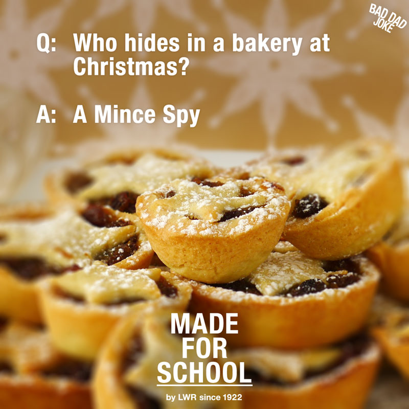 Bad Dad Joke: Who hides in a bakery at Christmas?