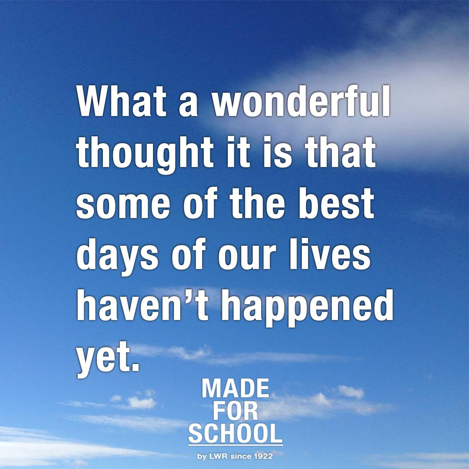 quotations on school days - photo #4