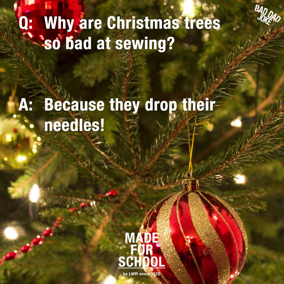 Sewing Christmas Trees