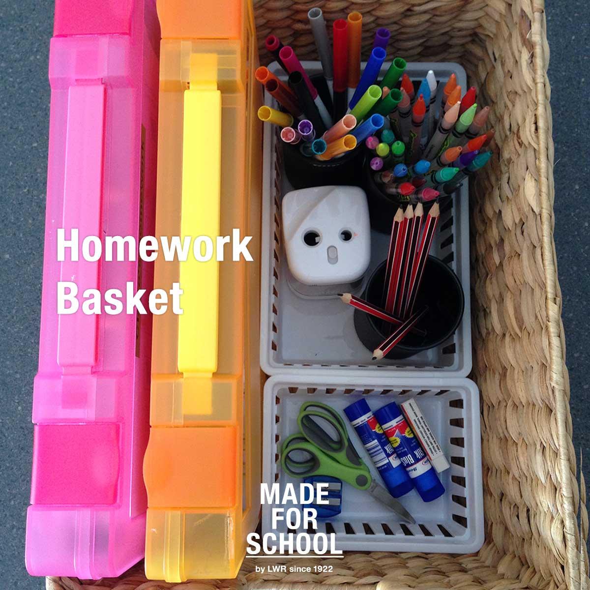 Homework Basket