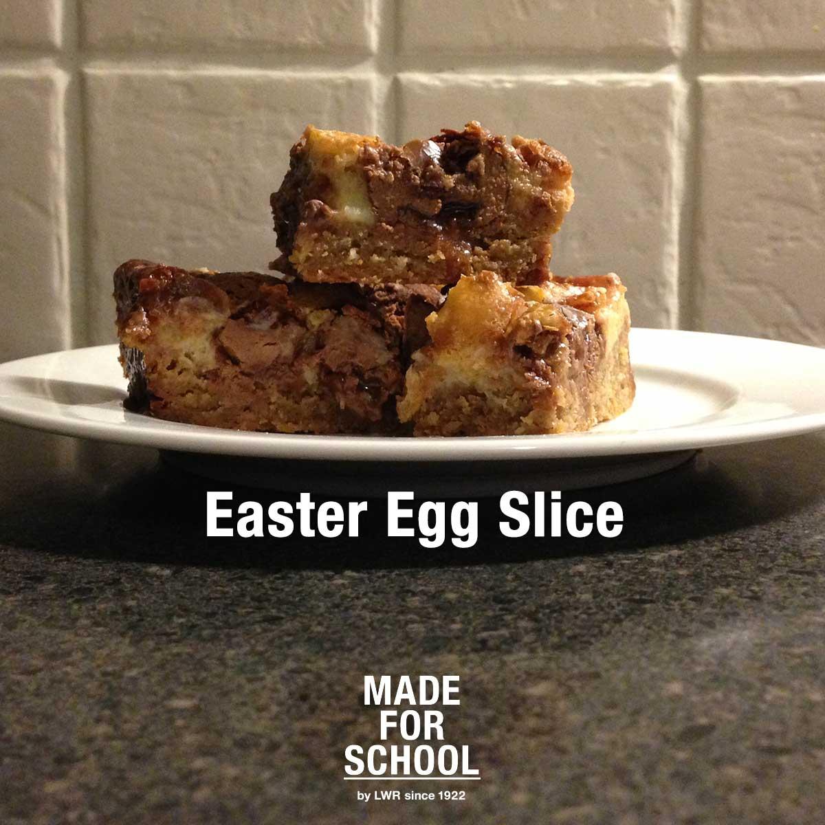 Easter Egg Slice