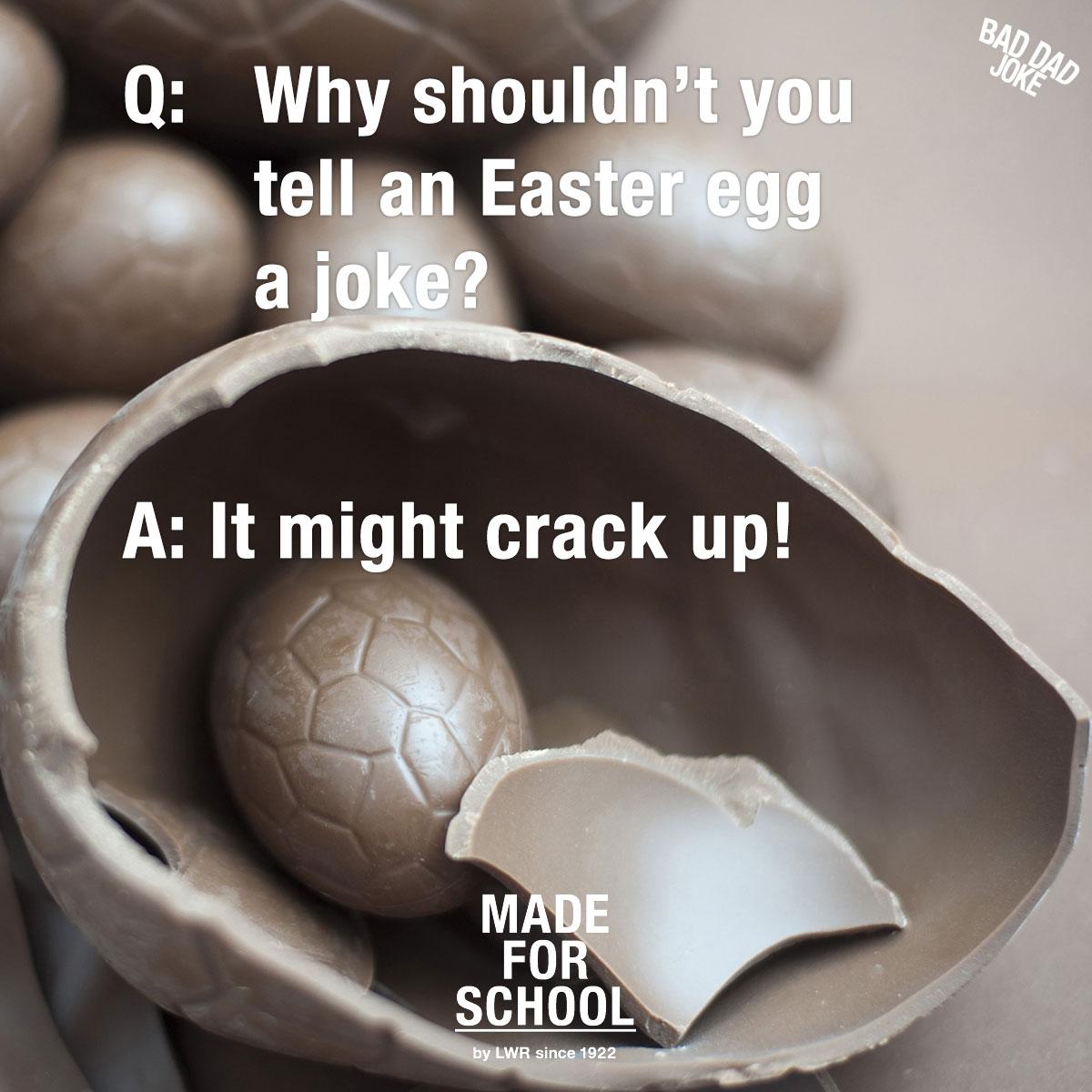 Easter Egg Crack Up!