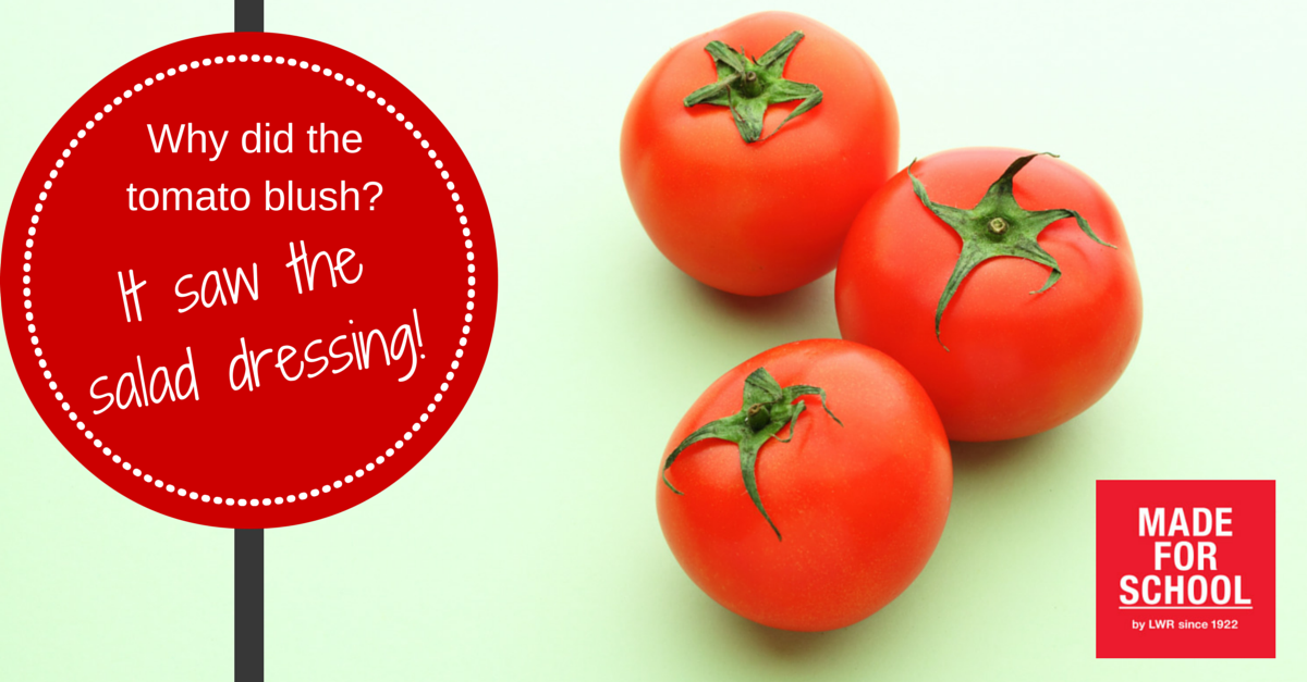 Joke about tomatoes