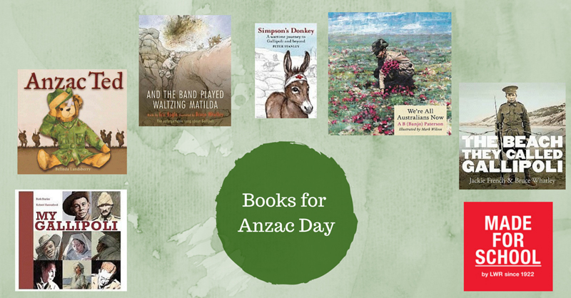 Children's Books for Anzac Day