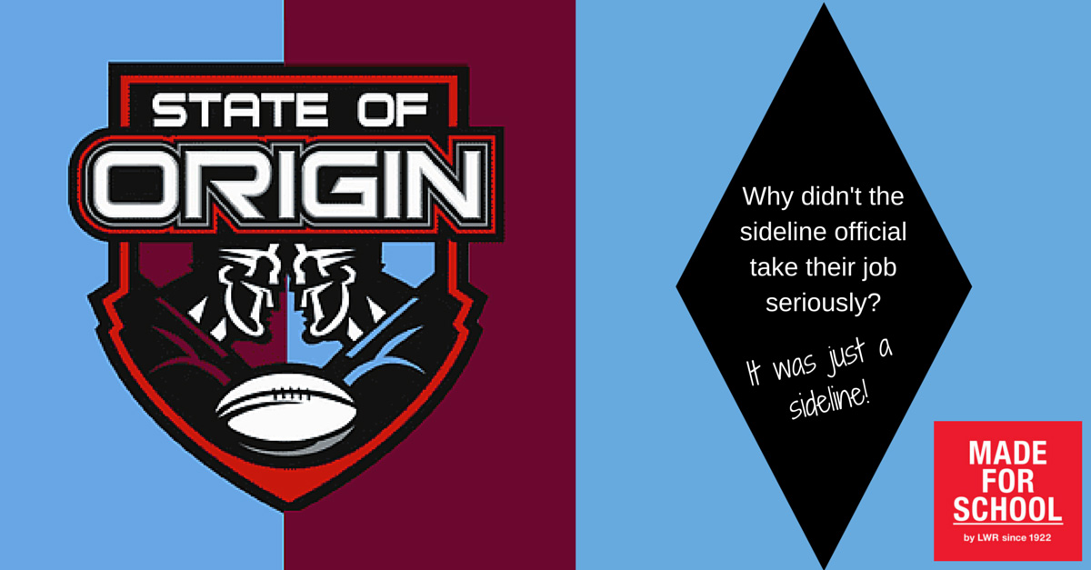 Joke for state of origin
