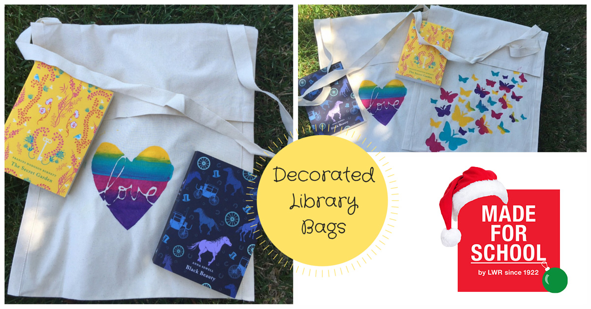 Decorated-Library-Bags