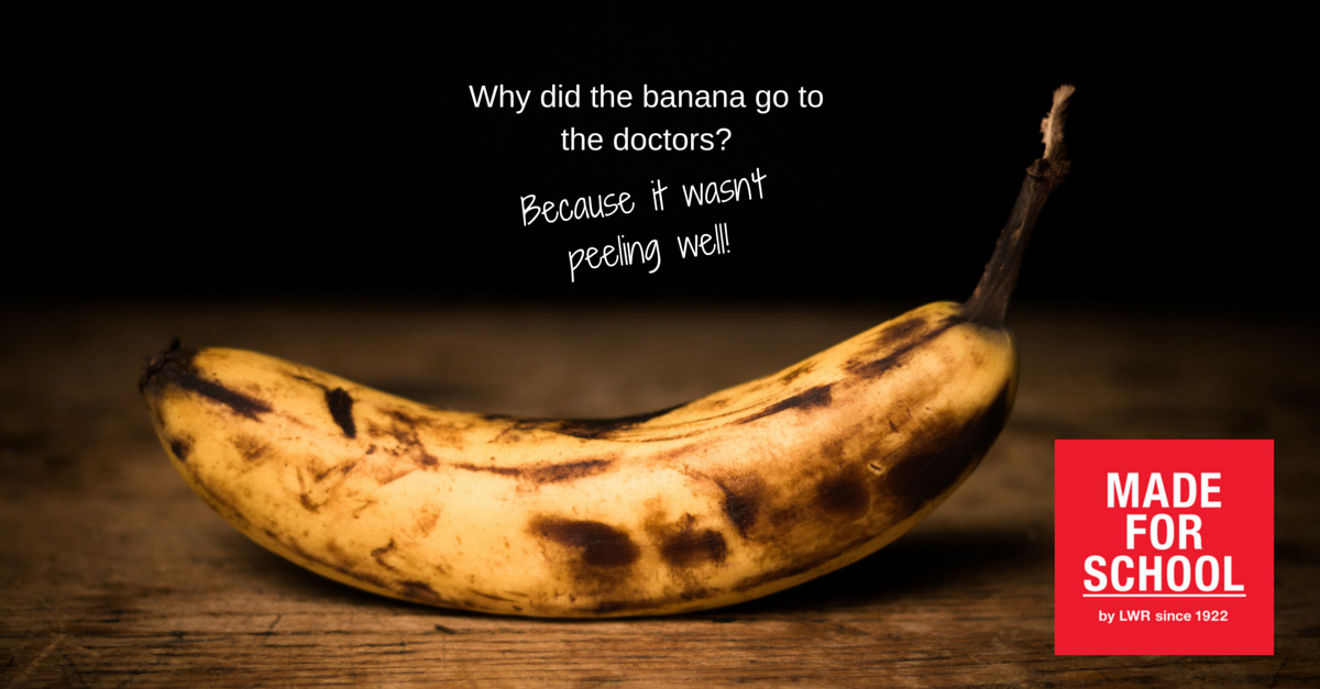 bad dad joke going bananas made for school