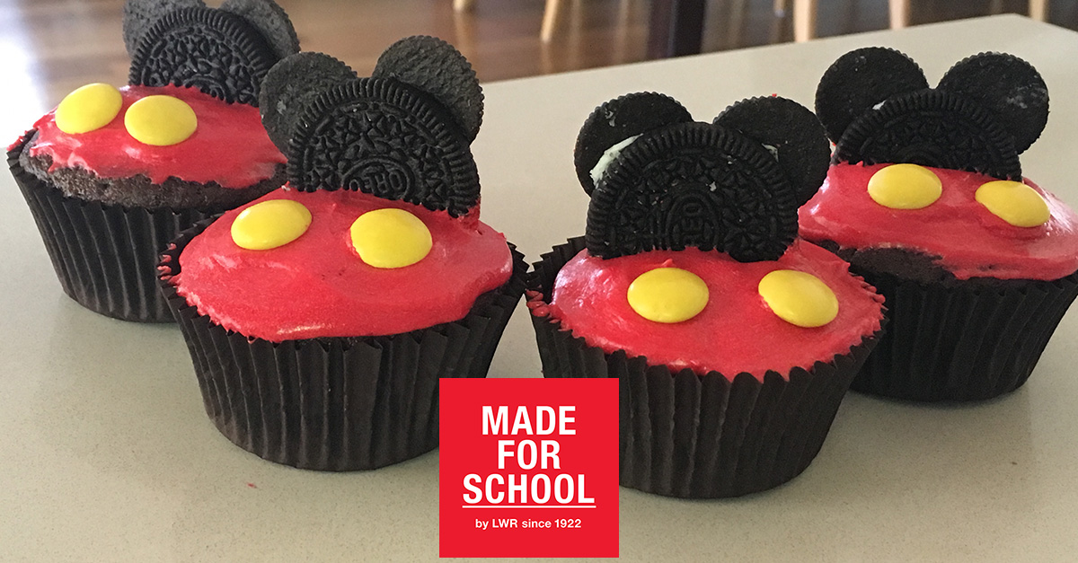 RECIPE Mickey Mouse Cupcakes Made For School