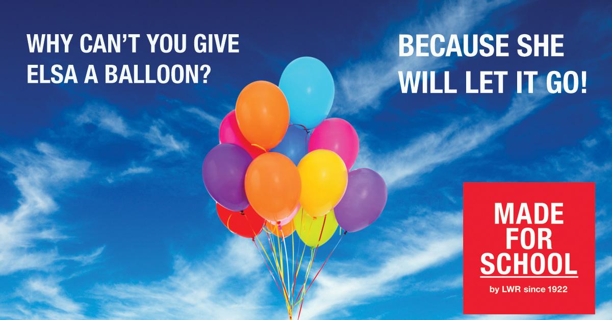 BAD DAD JOKE: Royal Balloons