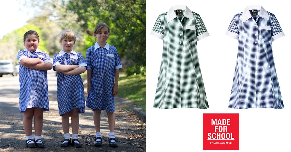 Gear Cowan Check School Dress