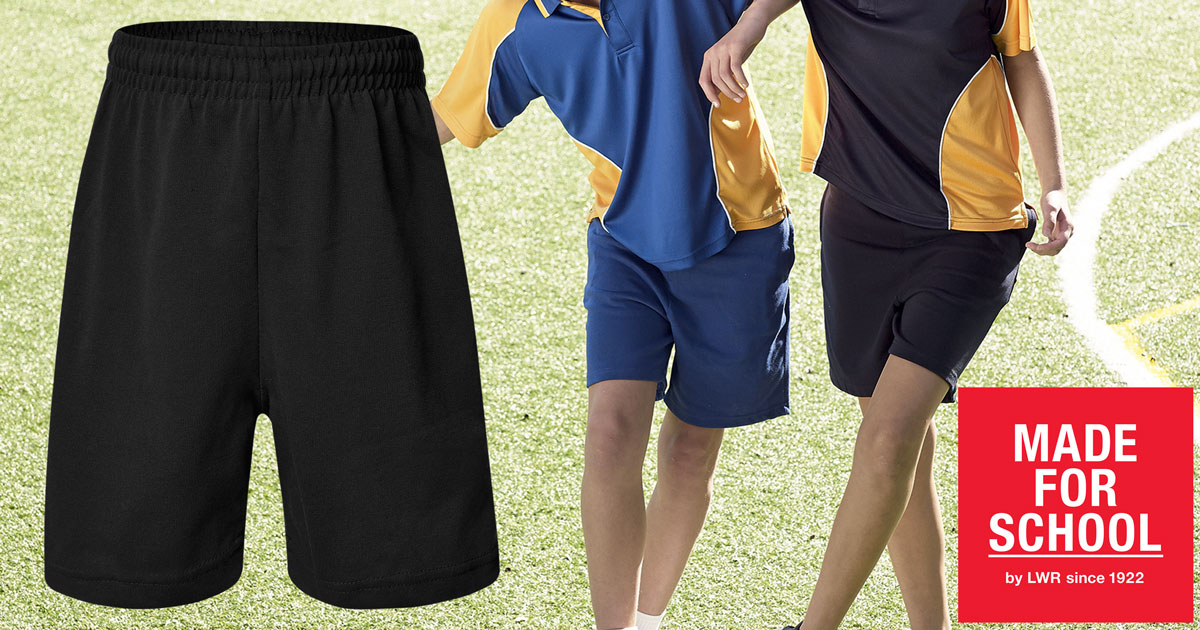 GEAR: Richards Rugby Knit Shorts with Zip Pocket