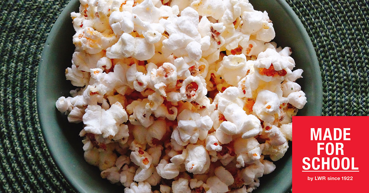 RECIPE: Parmesan Popcorn
