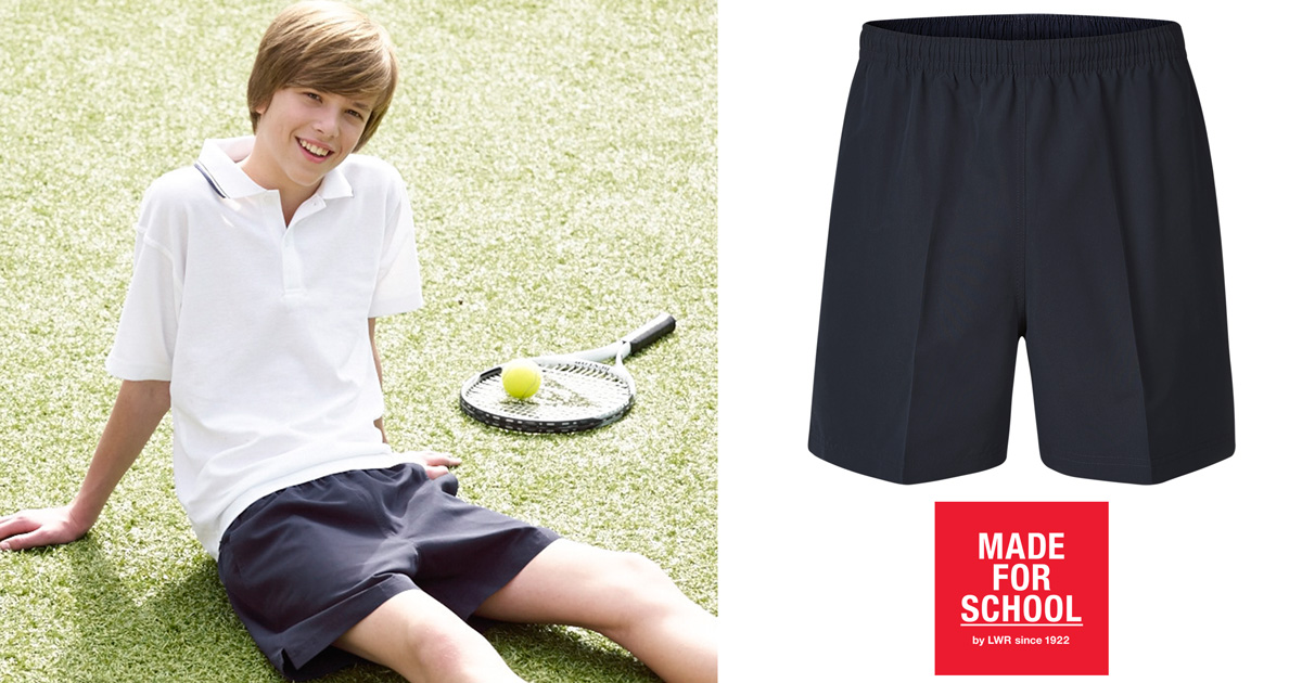 GEAR: Saunders Boys' Sport Shorts | Made For School: blog.madeforschool.com.au/gear/201609/gear-saunders-boys-sport-shorts