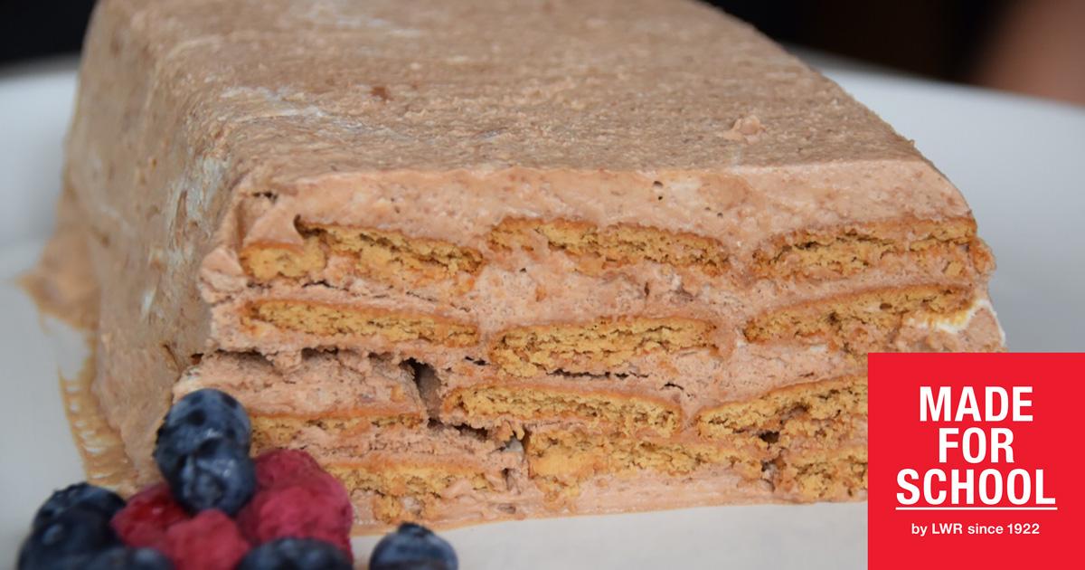 Chocolate Mousse Log Recipe