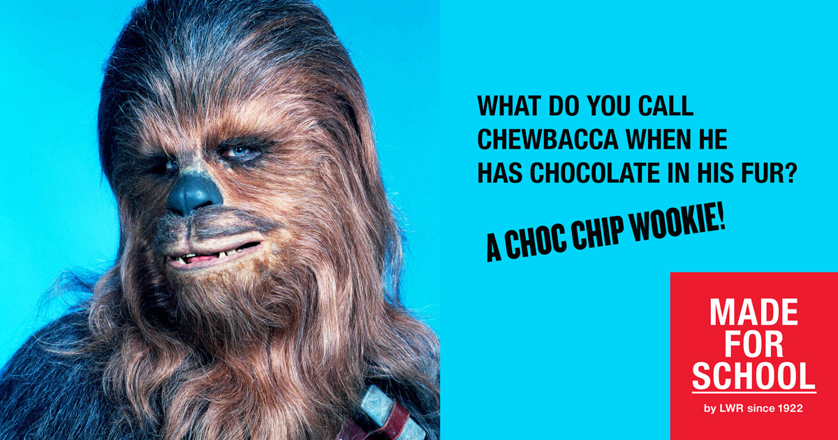 Bad Dad Joke: Chewy Bikkies