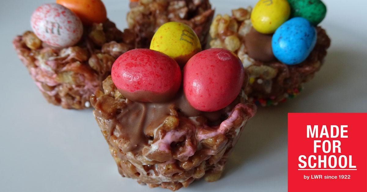 RECIPE: Mars Bar Slice Easter Nests