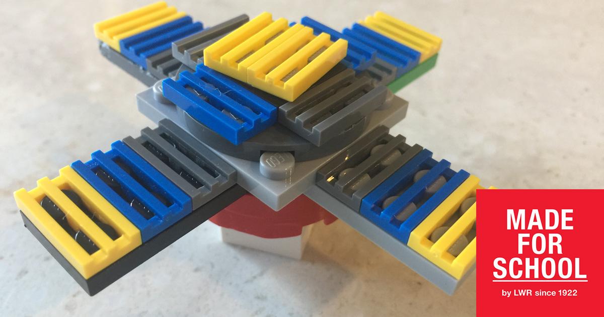 make your own fidget spinner made for school