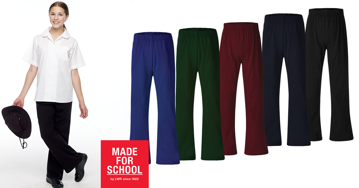 Girls School Pants