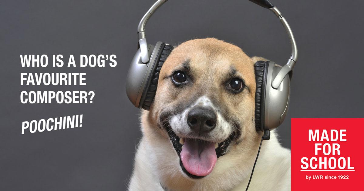BAD DAD JOKE: DOG MUSIC