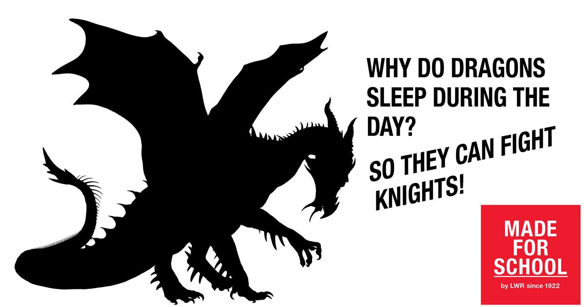 BAD DAD JOKE: SLEEPING DRAGONS