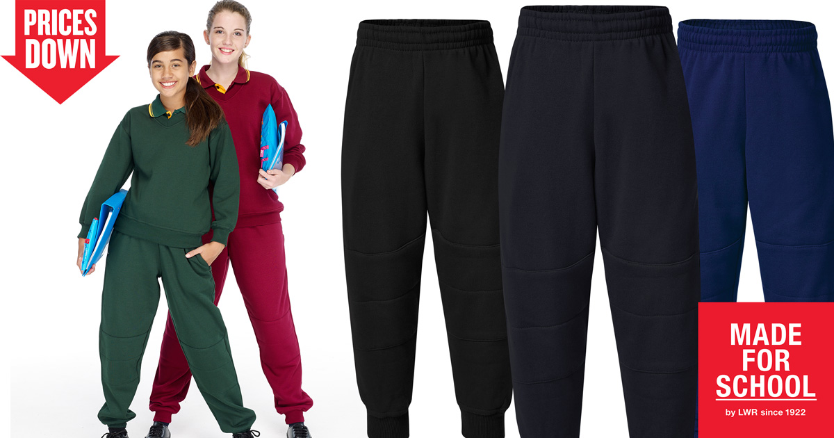 School Track Pants Online