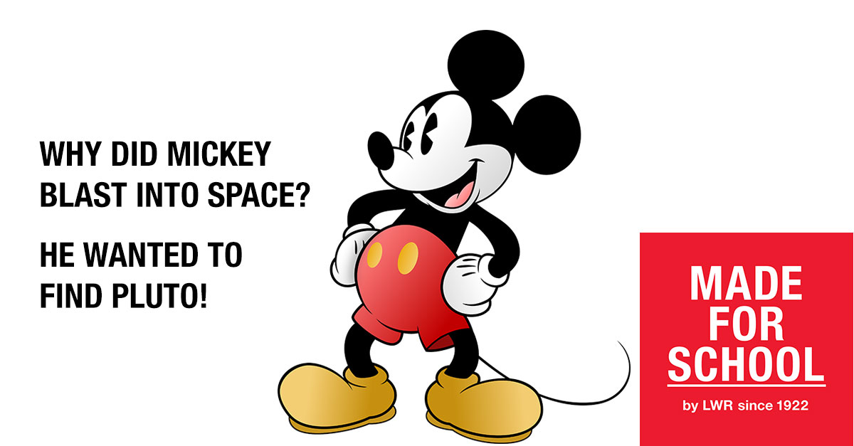 BAD DAD JOKE: Mickey Adventures