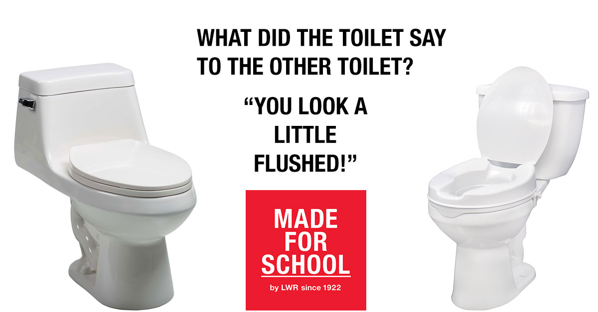 BAD DAD JOKE: Talking Toilets