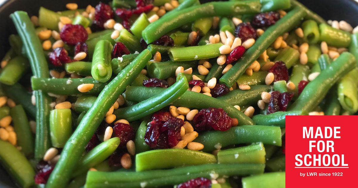 RECIPE: Green Bean, Sugar Snap Pea and Cranberry Salad