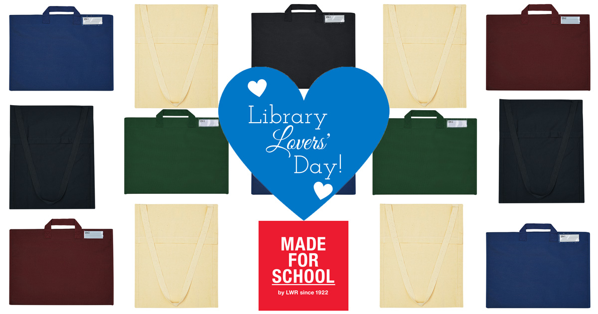 library bags online