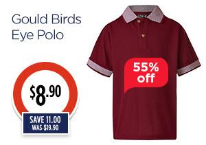 gould birds eye polo