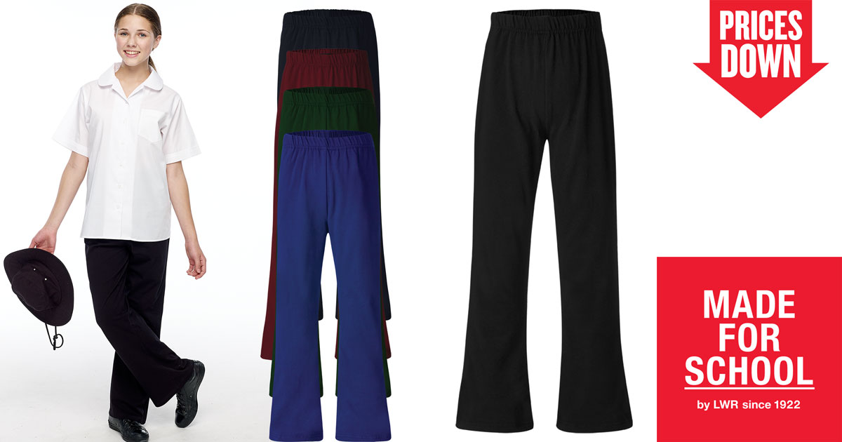 Girls School Pants