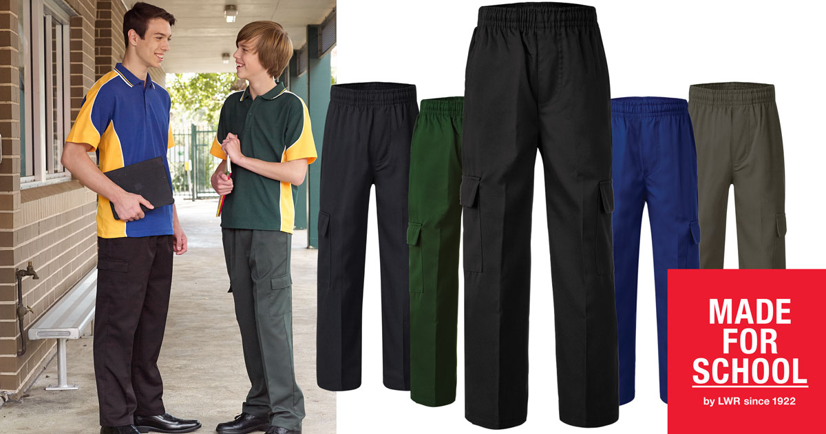 school pants online