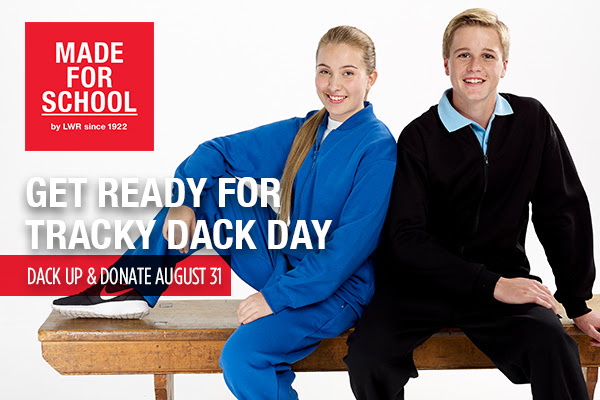 Don your Trackies and Donate to Help Kids