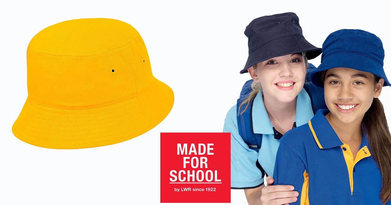 cotton school hats online