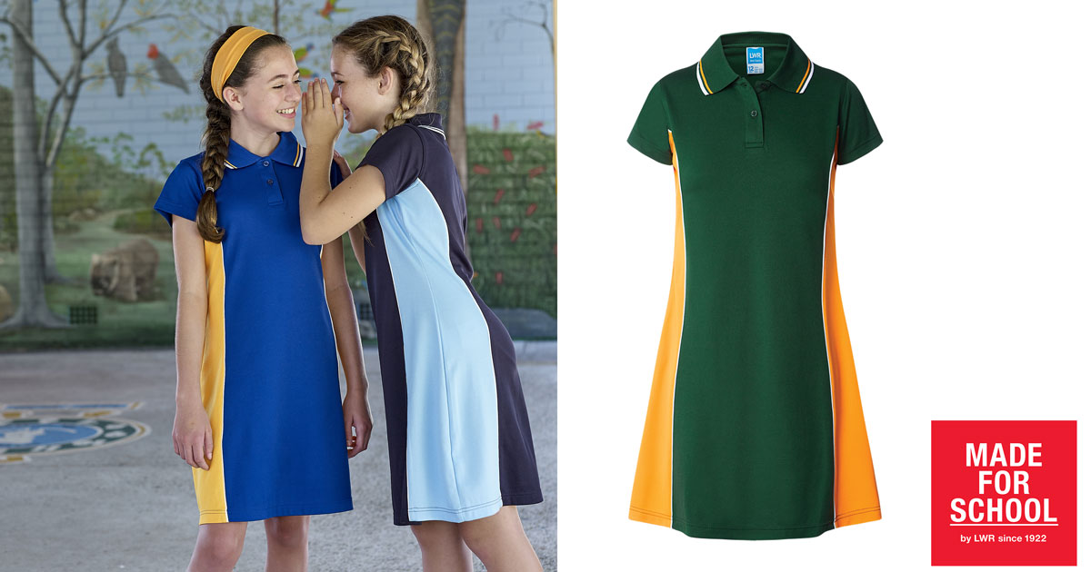 Polo School Dress