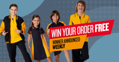 Win your school uniforms order free