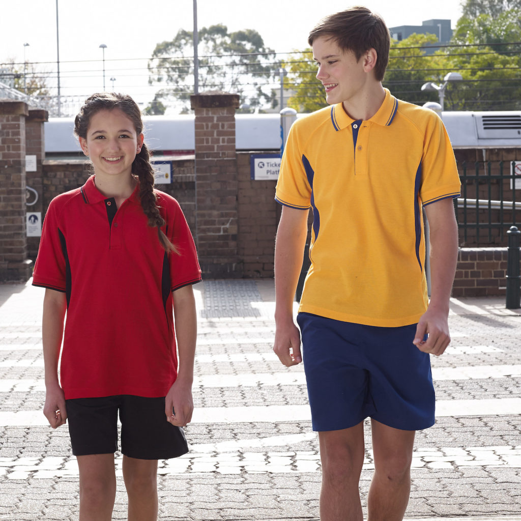 Microfibre School Shorts available in 8 classic colours online at Made For School.  Buy some today.